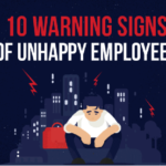 10 Warning Signs of Unhappy Employees [Infographic]