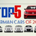 Top five German cars of 2017