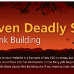 The 7 Deadly Sins of Link Building