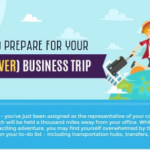 Tips to Prepare for Your First Business Trip (Infographic)