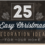 25 Easy Christmas Decoration Ideas for your Home