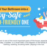 Remodel you Bathroom into a Baby-Safe and Child-Friendly One (Infographic)