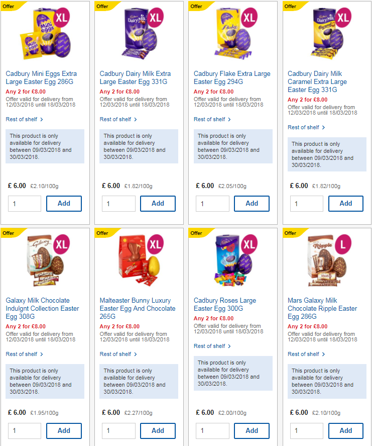 Get egg stra tesco selling two extra large cadbury and nestle easter infographic source httpsthesunmoney5793531tesco is doing two extra large cadbury and nestle easter eggs for 8 negle Gallery