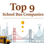 Top 9 School Bus Companies You Need to Know [Infographic]