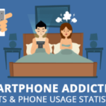 Cell Phone Addiction Facts & Phone Usage Statistics (Infographic)