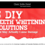 DIY Teeth Whitening Solutions That May Actually Cause Damage