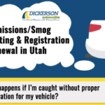Emissions Testing & Registration Renewals in Utah [2018]
