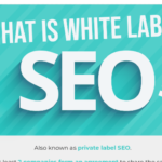 What is white label SEO