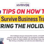 7 Tips on How to Survive Business Travel During the Holidays