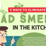 5 Ways to Eliminate Bad Smells in the Kitchen