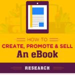 How to Create an eBook – Infographic by Thehotskills