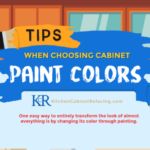 Tips when choosing cabinet paint colors