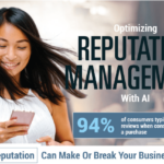 Optimizing Reputation Management with AI (Infographic)