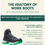 The Anatomy of Work Boots