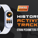 History of Activity Trackers (From Pedometers to Fitbit)-Infographic